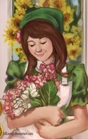 Flowers for you- WIP by JillLenaD
