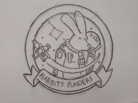 Rabbit's Raiders Potential Logo by ScarecrowKing
