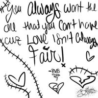 Love isn't always Fair - Black Veil Brides by Britney0793