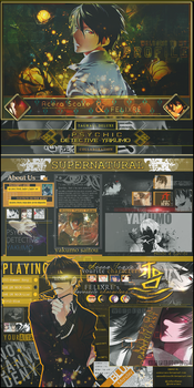 Phychic Detective Yakumo MAL Layout by AceraScaxe