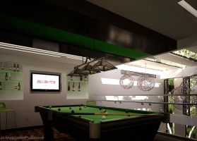 billiard interior 1 by ARCHJUN