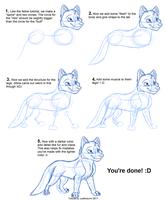 How to Draw Canines: Body by JustAutumn