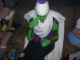 Piccolo the Alcoholic-Cosplay by bloodthirstyfreak
