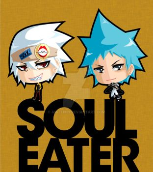 Soul Eater Chibis by Aniteen9