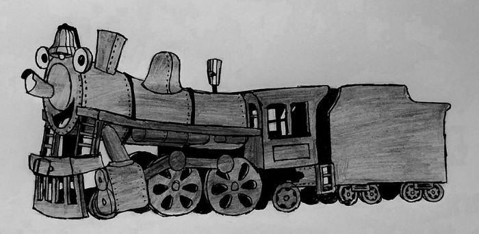 Train Character (based on Confused-Man on DA) by GameGeeksDeviant