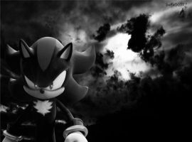 Shadow The Hedgehog Wallpaper by Starlight-Sonic