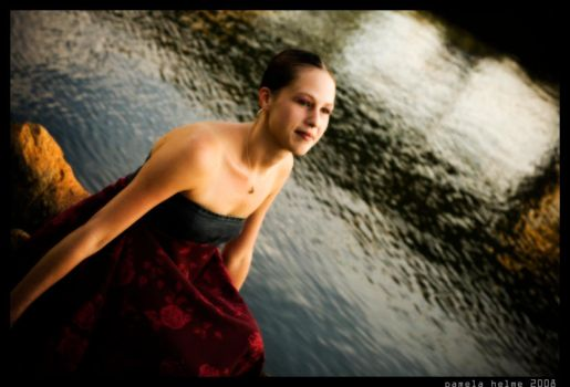 Julie on the Cove 2 by pamhelmephotography