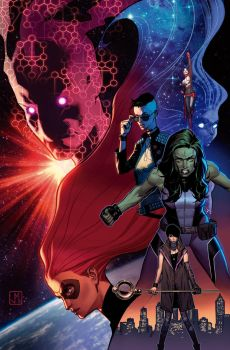 A-Force #3 Cover by ZurdoM