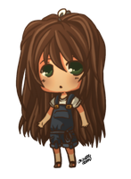 Chibi Girl by mewDoubled
