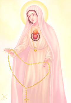 Our Lady of Fatima by Christus-Imperat