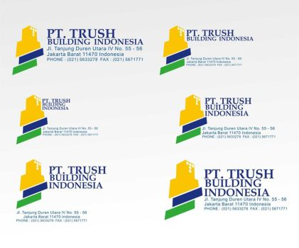 logo trust finish by egathinking
