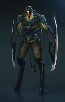 CYBER-SLAYER by Up-Tchi