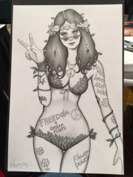 Flower Child Poison Ivy Commission by Nszerdy
