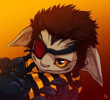 GW2 commission for Kira by HasegawaVega