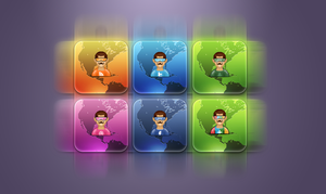Social Icons Pack 'Dulce HD' by ChikenArt