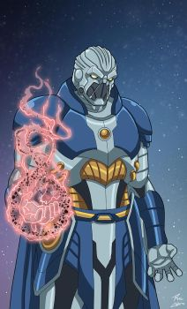 Anti-Monitor (Earth-27) commission by phil-cho