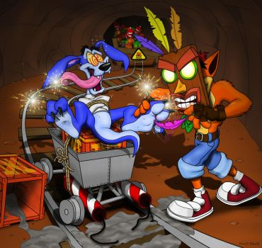Crazy VS N. Sane by Foot-paws