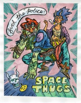 Space Thugs 2 by PhatDoughBoy