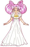 Princess Chibi-Usa In Color by usagisailormoon20