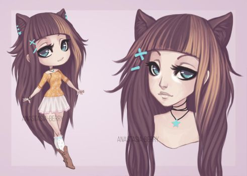 Adoptable auction [CLOSED] by Anastasia-berry