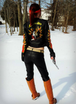 Fire And Ice-RE2 Claire Redfield Alternate Outfit by Hamm-Sammich