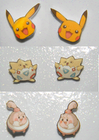 COMM New pokemon earrings