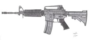 Colt M4A1 by CzechBiohazard