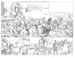 Babylon 5 Pages 2 and 3 by ARMORMAN