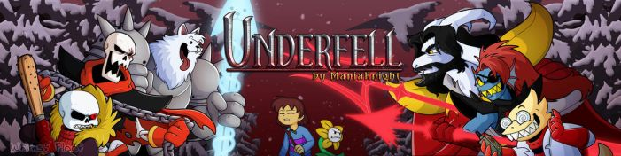 Underfell Fangame Banner by Whimsy-Floof