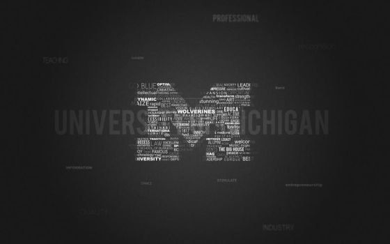 University of Michigan BW by technouse