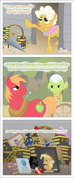 Apple Family Heirlooms by TotallyAnAlicornGuys