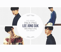 Pack png render: Lee Jong Suk | Actor #01 by VipArmy