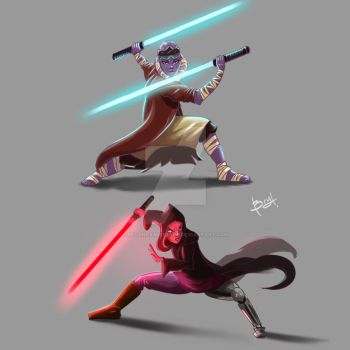 May the 4th be with you!!! by BryanRamirezArt