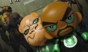 Munny John and Kilowog by KidNotorious