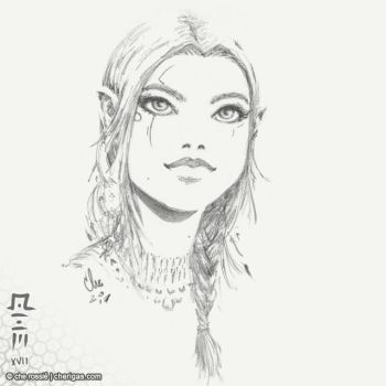 Elf sketch - aacs N1C by che-rigas