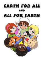 Earth for all and All for Earth. by Nayzak