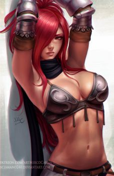 Erza Knightwalker - Fairy Tail (2v) by Sciamano240