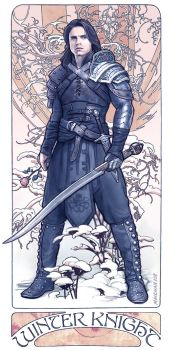 The Winter Knight by maichan-art