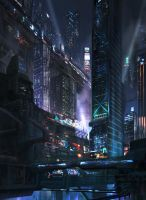 City-scape 2 by pk87