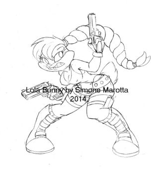loonatics unleashed coloring pages | Lola Bunny favourites by wyanewill on DeviantArt