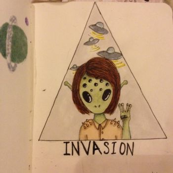 Invasion (inktober 2014) by ecoemmy