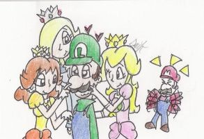 WeeGee Gets the Ladies by HamSamwich