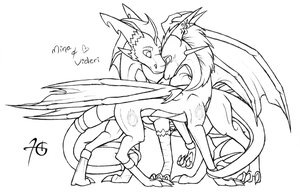 AT:: Mina x Videri by TyraDragoness