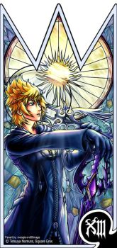 Roxas- the Keyblade of Destiny by moogle-O-d00mage