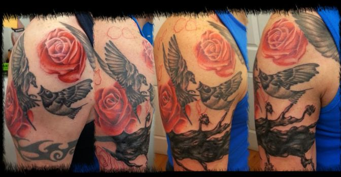 tribal band cover up by BMXNINJA