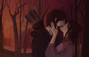 The Archer and His Wife by Nafah