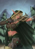 Alleria from DotA by BDBonzon