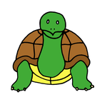 'Its Been A Long Time' Turtle by akaLOLCat