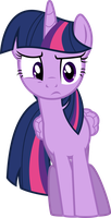 Confused Twilight Sparkle S4E22 by Kevinerino