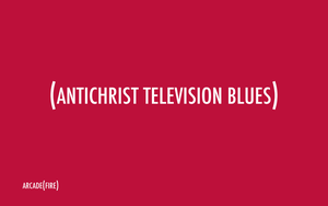 Antichrist Television Blues by rev-olution